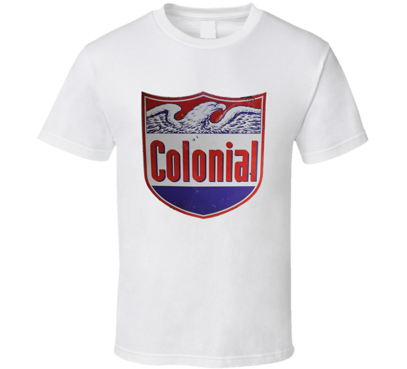 Colonial Oil Vintage Garage T Shirt