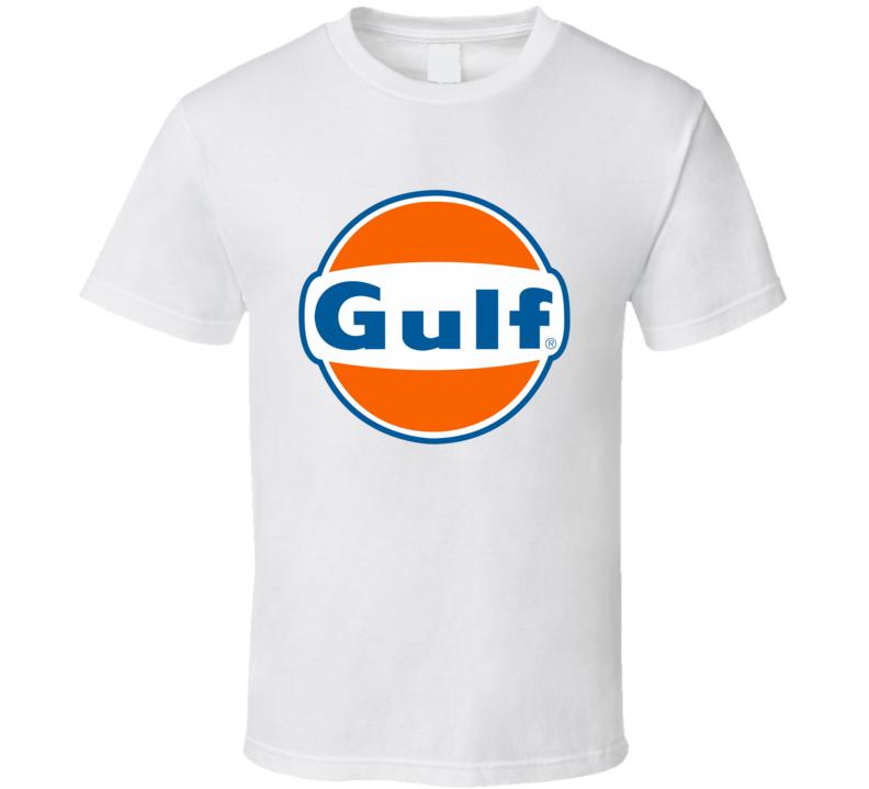 Gulf Vintage Garage T Shirt