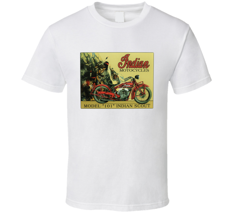 Indian Motorcycles Vintage T Shirt