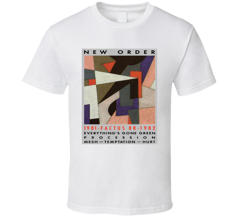 d57f10386 New Order Everything's Gone Green T Shirt