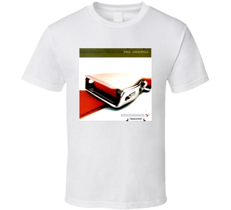 Paul Oakenfold Tranceport Album Tee T Shirt