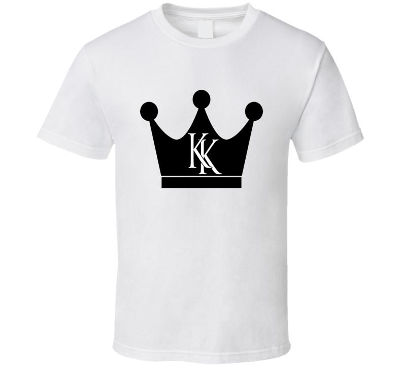 Krash Kings Black Crown Logo T Shirt