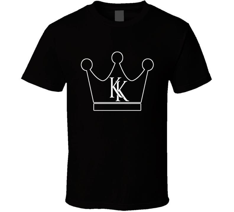 Krash Kings White Crown Logo T Shirt