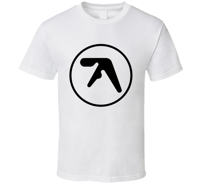 Aphex Twin Richard James Black Logo T Shirt