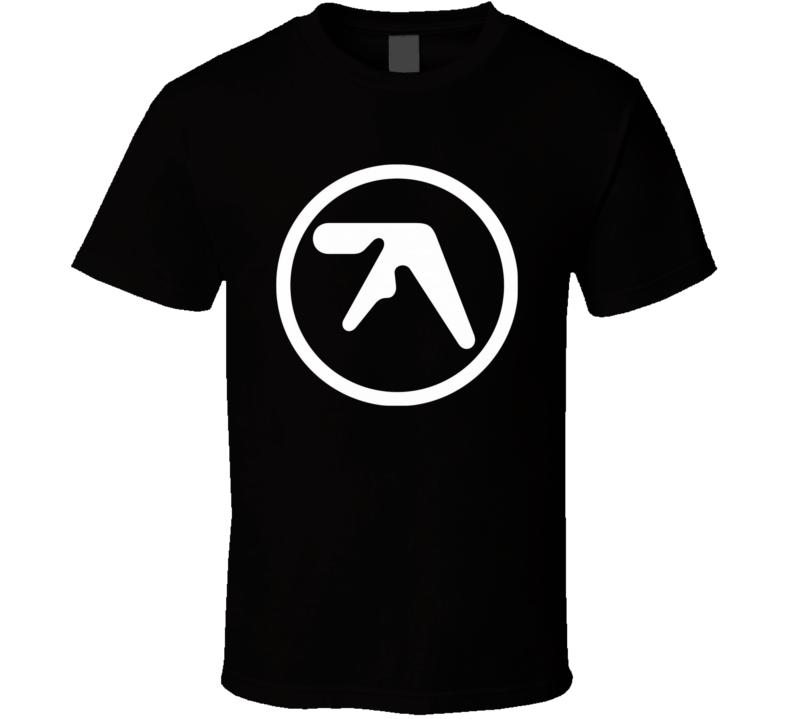 Aphex Twin Richard James White Logo T Shirt