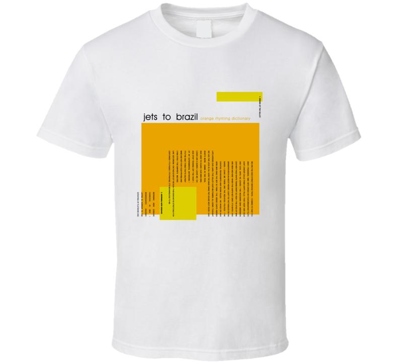 Jets To Brazil Album T Shirt
