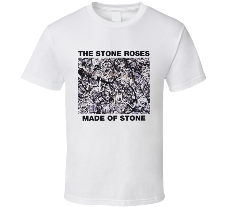 UK single Made of Stone t shirt