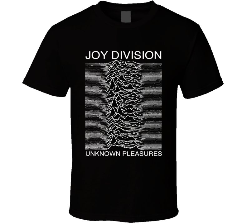 Joy Division Unknown Pleasures Black T Shirt