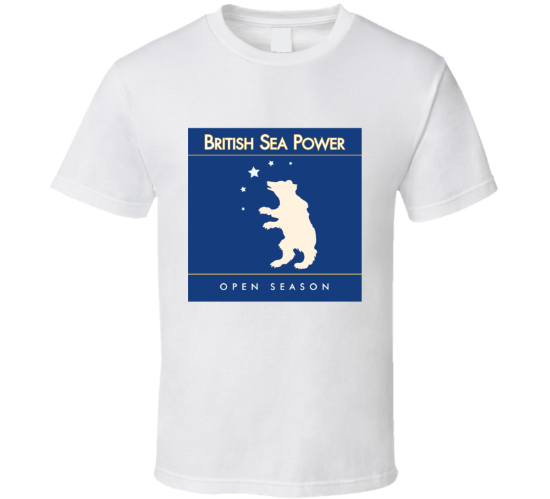 British Sea Power Album Cover T Shirt