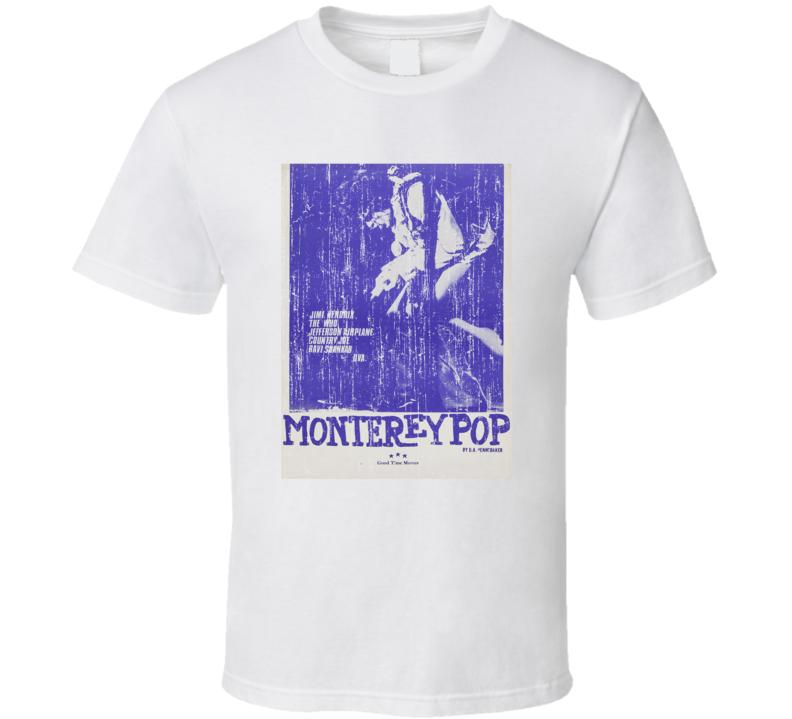 Monterey Pop Festival T Shirt