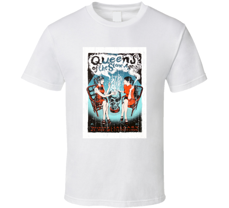 Queens Of The Stone Age Concert Poster T Shirt