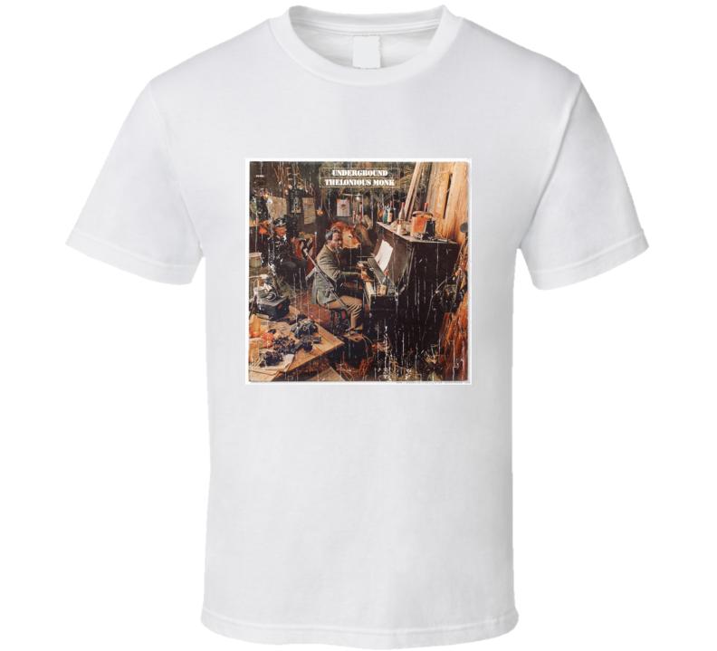 Thelonious Monk Underground Album T Shirt