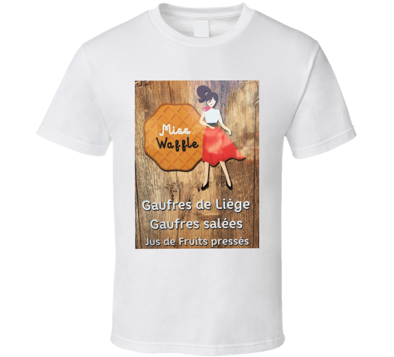 Miss Waffle T Shirt