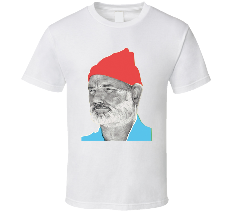The Life Aquatic Steve Zissou Bill Murray T Shirt