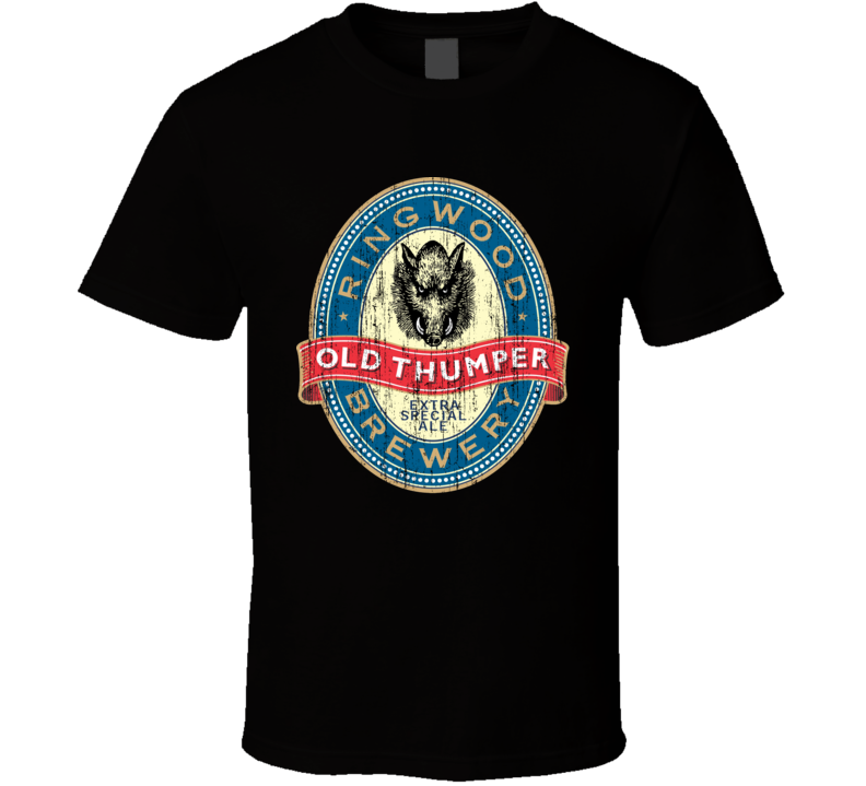 Ringwood Old Thumper Beer Aged Look T Shirt