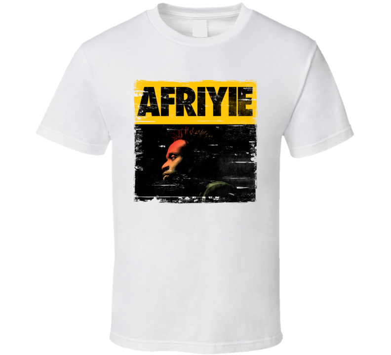 Afriyie Album Cover Distressed Look T Shirt