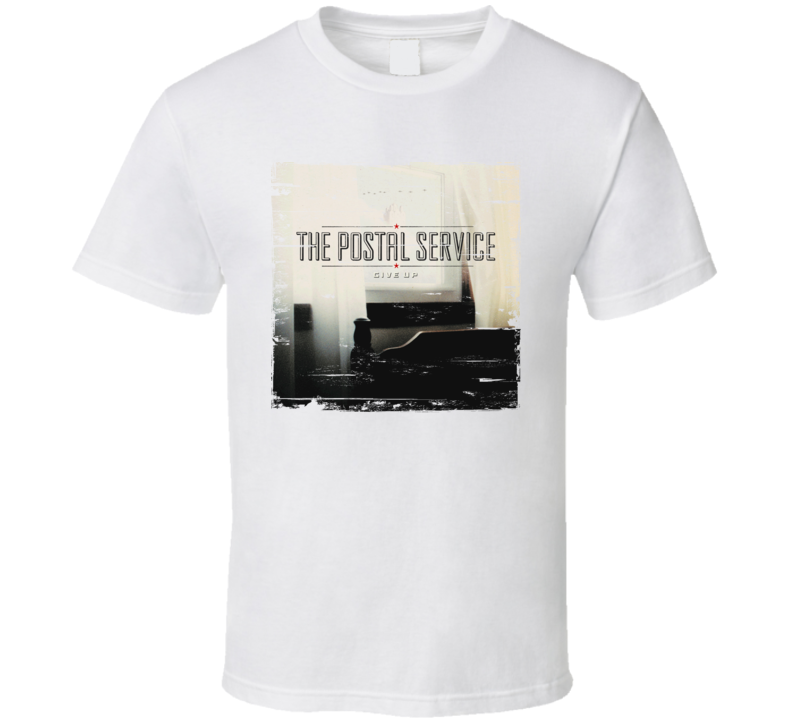 The Postal Service Give Up Album Worn Look T Shirt