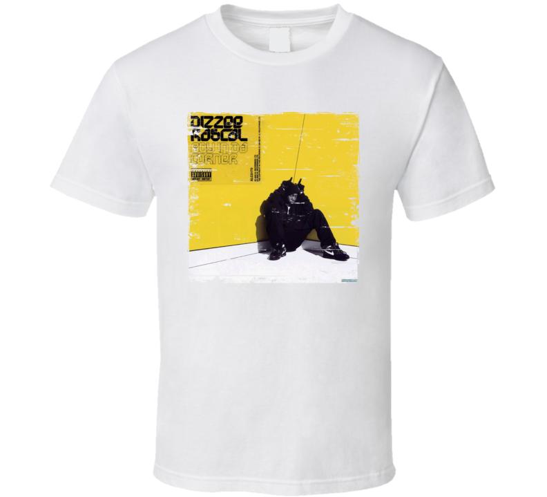 Dizzee Rascal Album Worn Look T Shirt