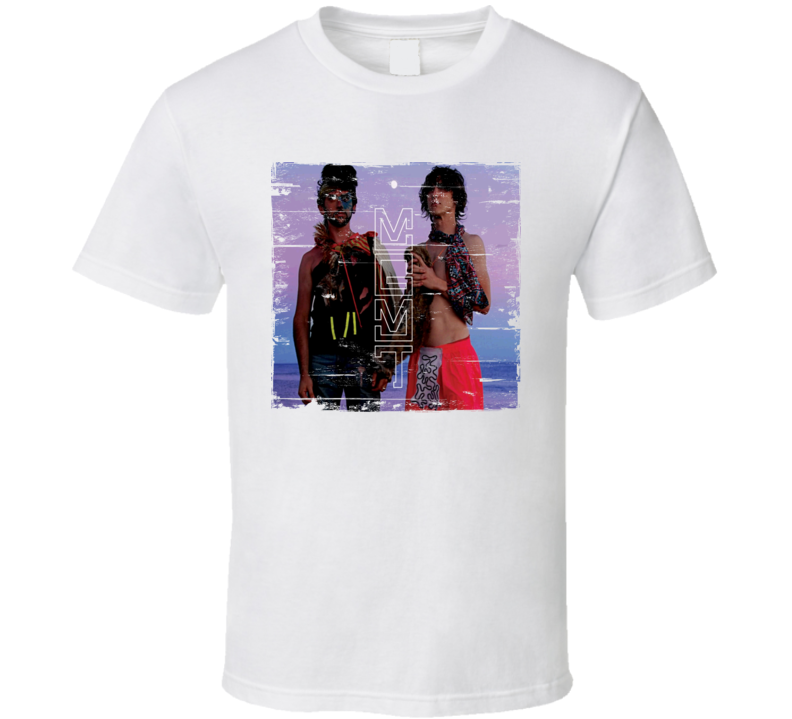 MGMT Album Cover Worn Look T Shirt