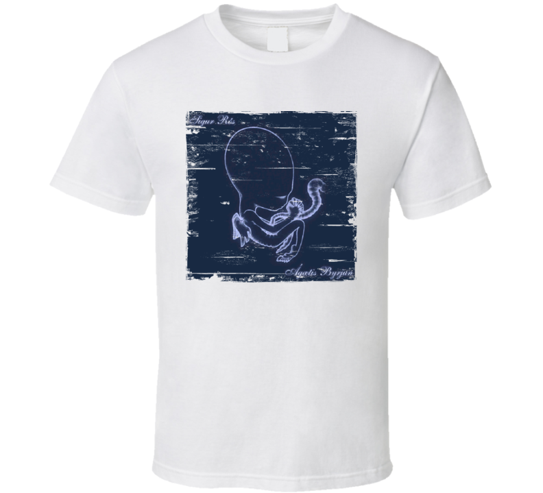 Sigur Ros Album Cover Worn Look T Shirt