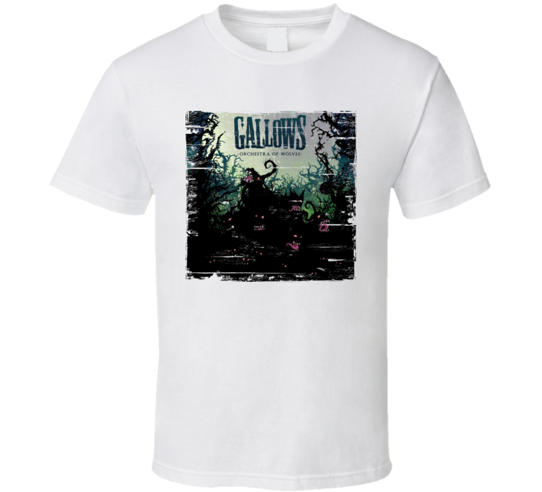 Gallows Album Cover Worn Look T Shirt