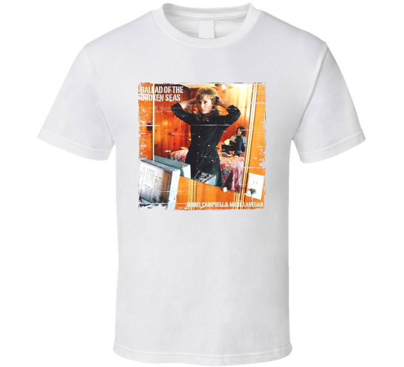 Isobel Campbell Ballad oF The Broken Seas Album Worn Look T Shirt