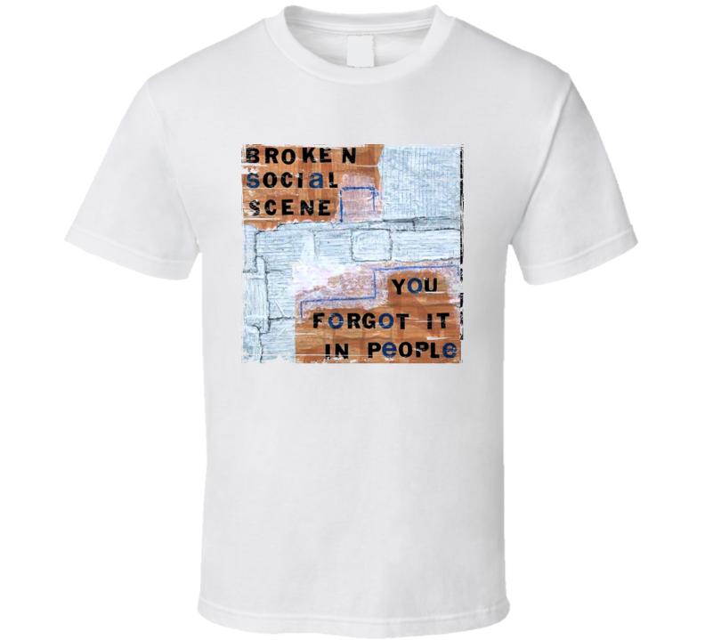 Broken Social Scene Album Worn Look T Shirt