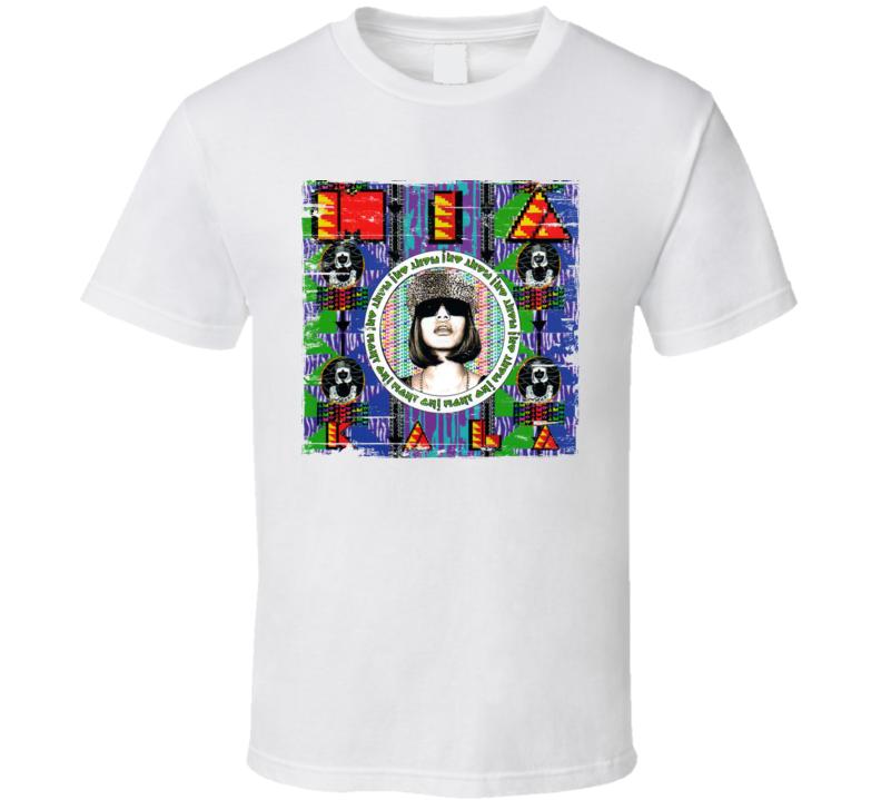 MIA Kala Album Worn Look T Shirt