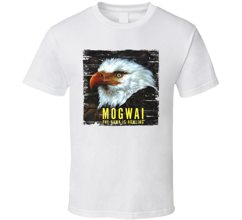 Mogwai Album Worn Look T Shirt
