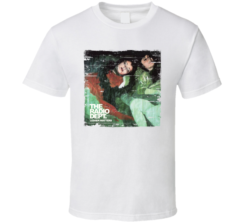 The Radio Dept. Lesser Matters Album Worn Look Shirt