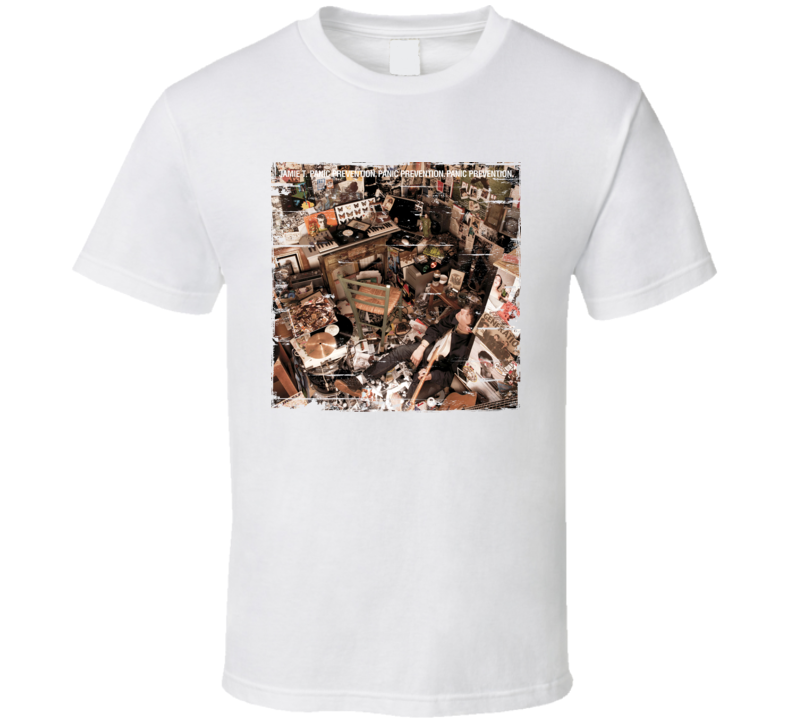 Jamie T Panic Prevention Album Worn Image Shirt