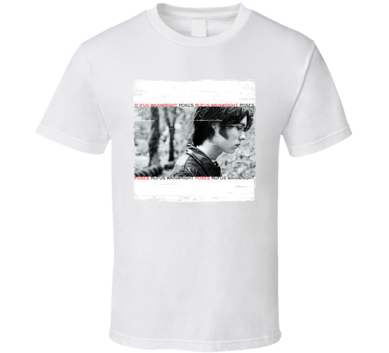 Rufus Wainright Poses Album Worn Look T Shirt