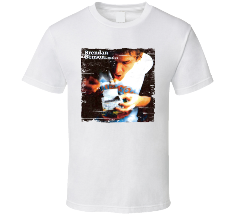 Brendan Benson Lapalco Album Worn Image Shirt