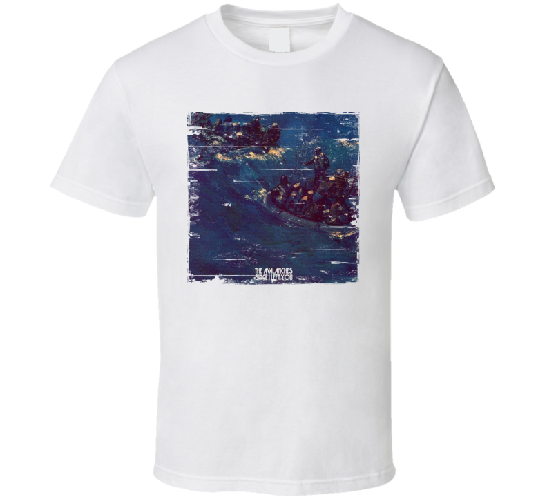The Avalanches Since I Left You Album Worn Image Shirt