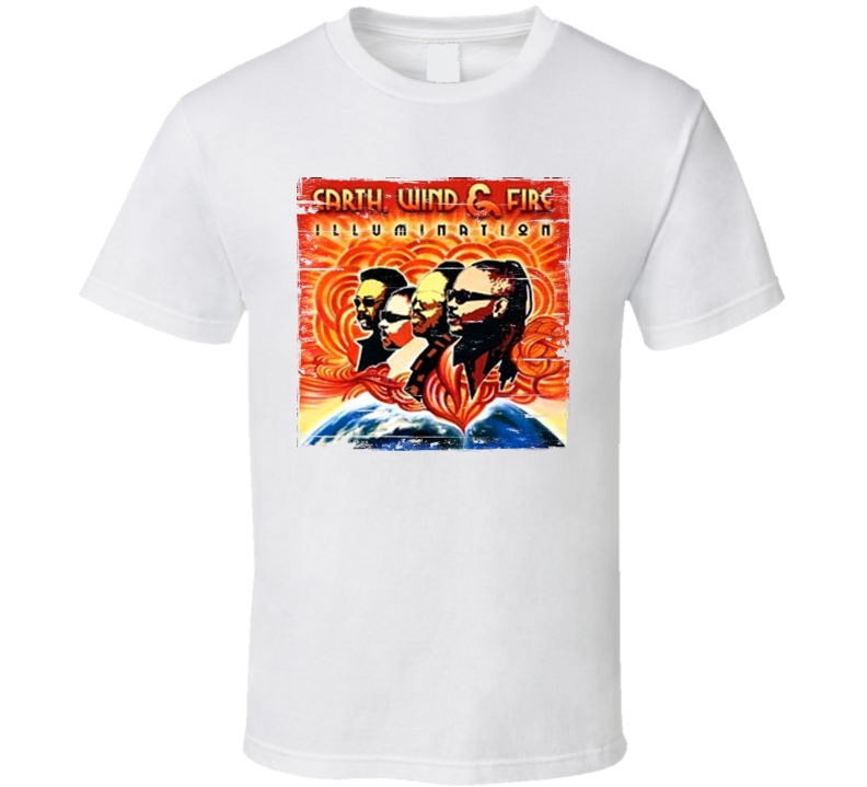 Earth Wind And Fire Album Worn Image Tee