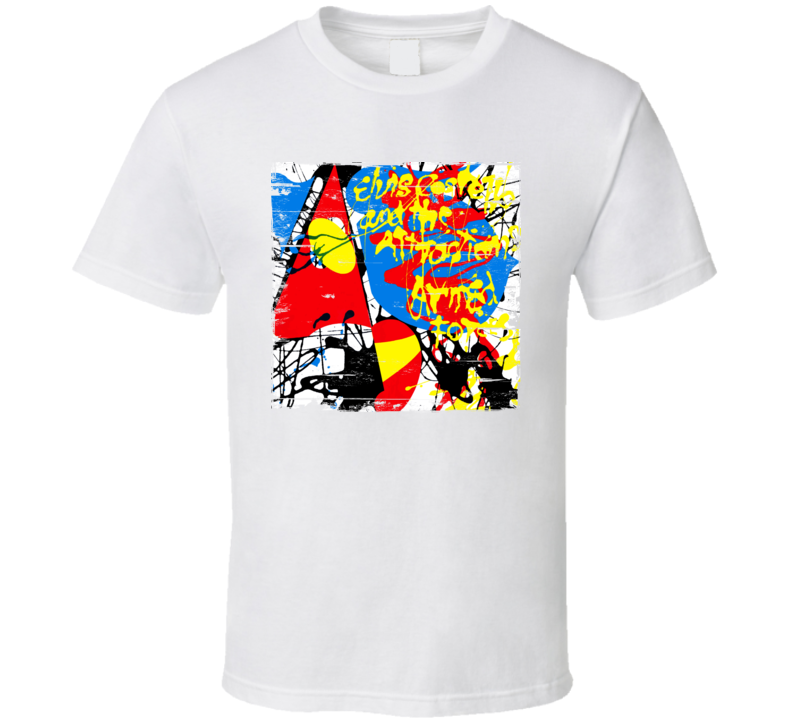 Elvis Costello And The Attractions Album Worn Image Tee