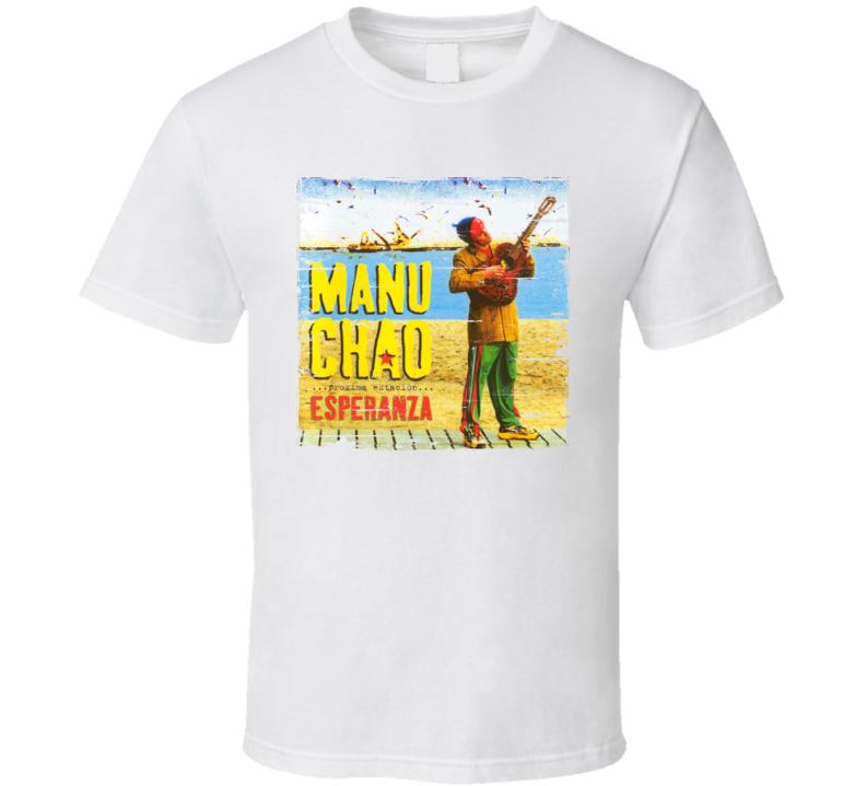 Manu Chao Album Worn Image Tee