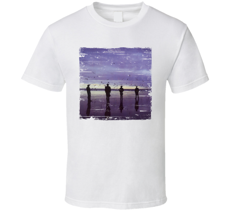 Echo And The Bunnymen Album Worn Image Tee