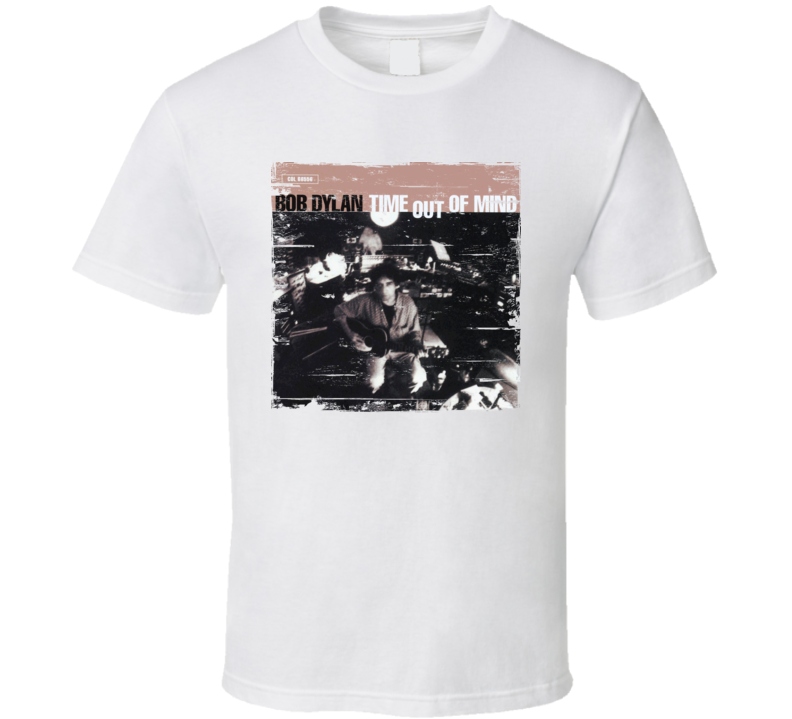 Bob Dylan Time Out Of Mind Worn image Tee