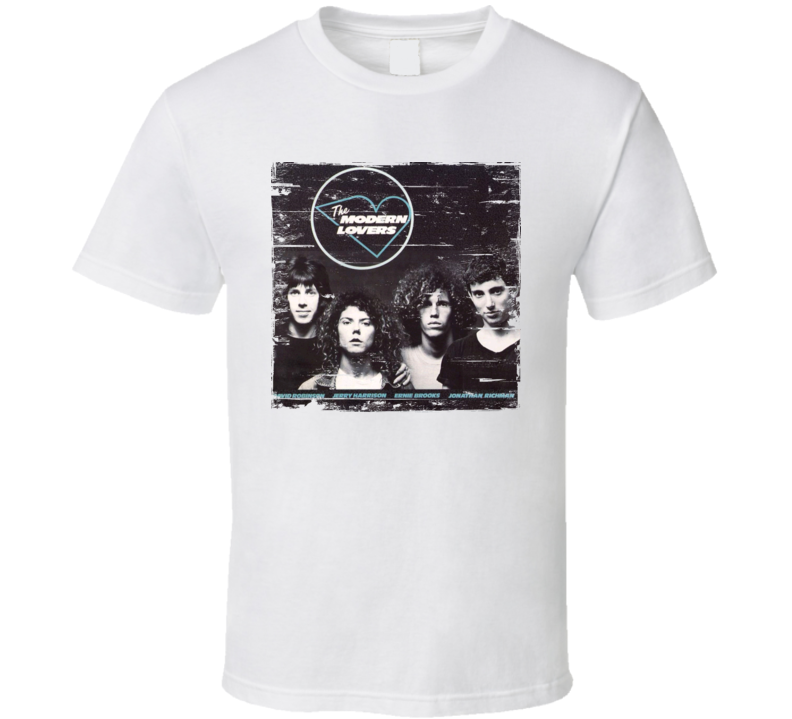 The Modern Lovers Album Worn Image Tee