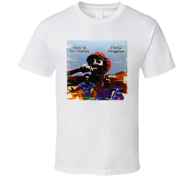 Toots and the Maytals Funky Kingston Worn Image Tee