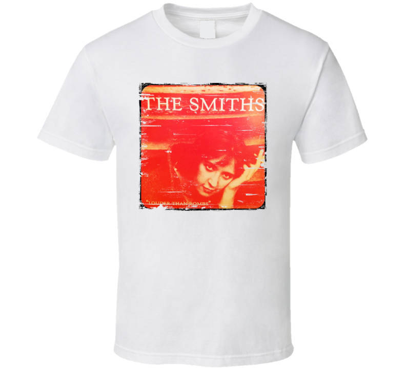 The Smiths Louder Than Bombs Worn Image Tee