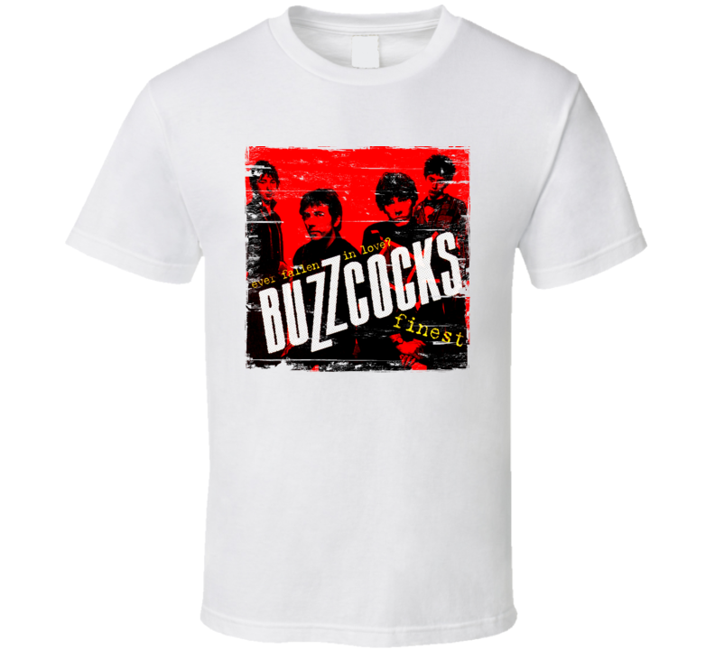 The Buzzcocks Album Worn Image Tee