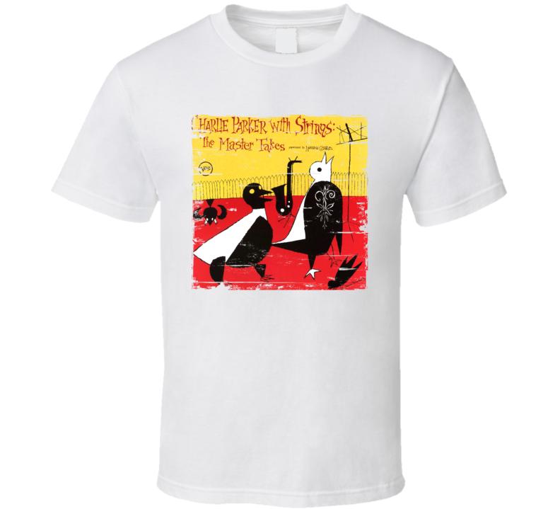 Charlie Parker Album Worn Image Tee