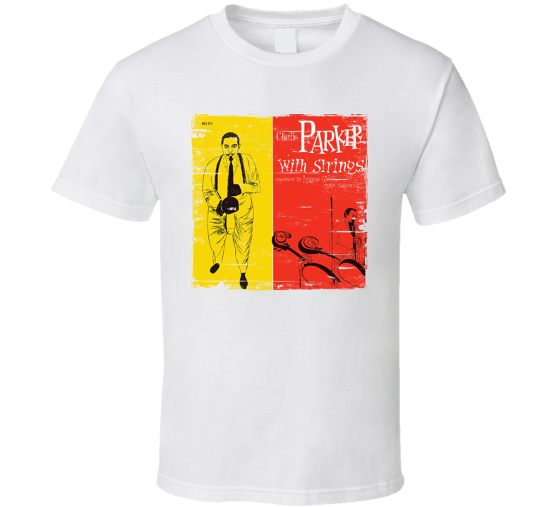 Charlie Parker With Strings Worn Image Tee