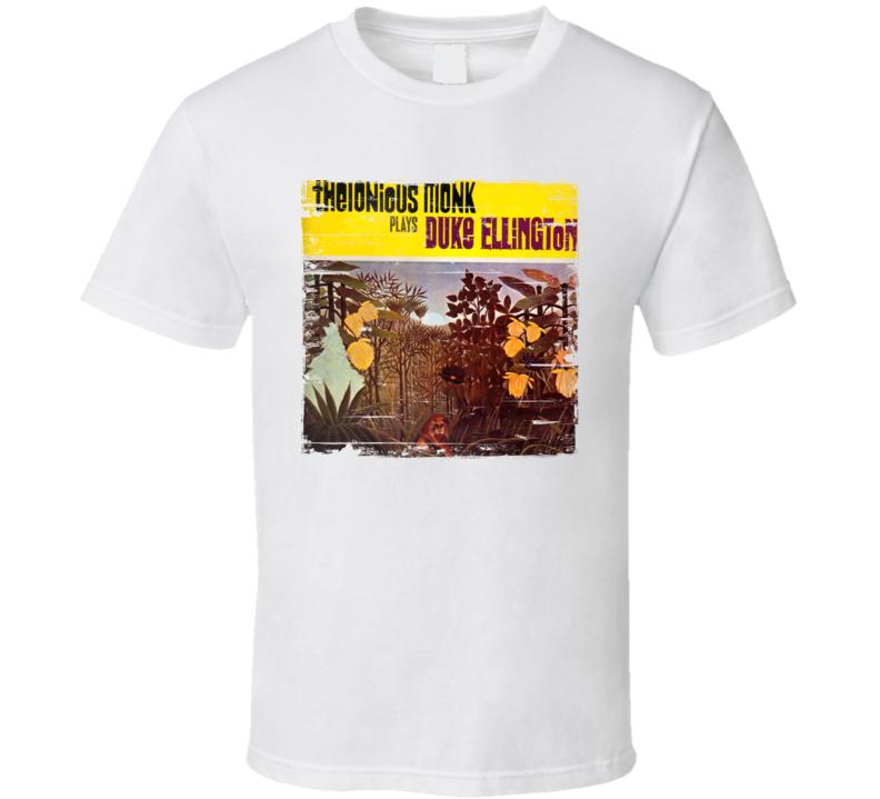 Thelonious Monk Album Worn Image Tee