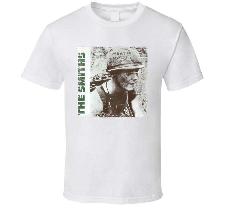 The Smiths Meat Is Murder Worn Image Tee