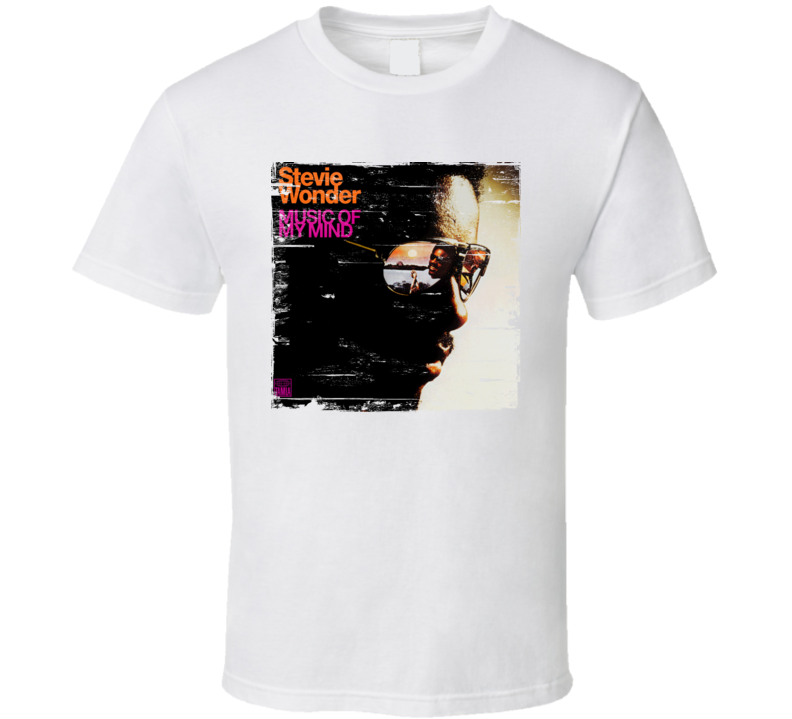 Stevie Wonder Music Of My Mind Worn Image Tee