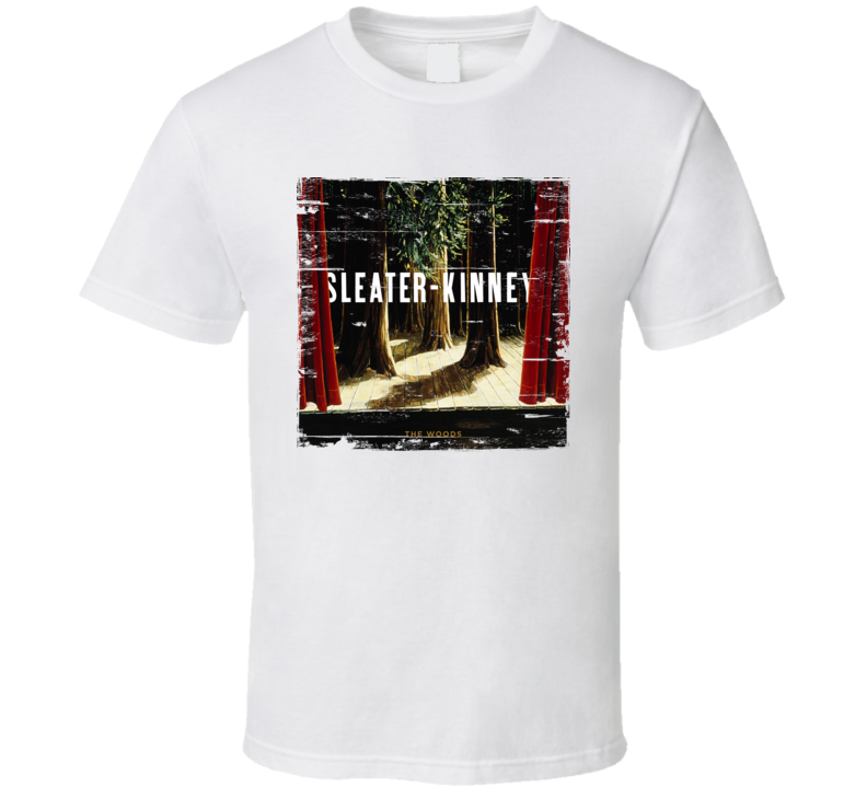 Sleater-Kinney The Woods Worn Image Tee