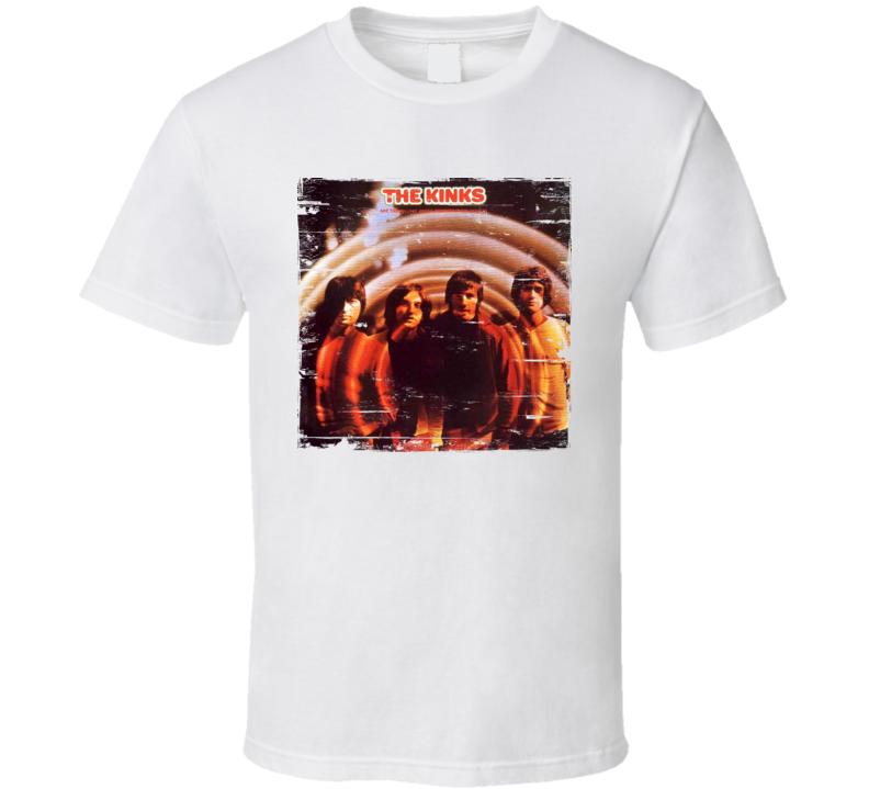 The Kinks Album Worn Image Tee
